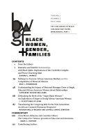 Black Women, Gender & Families