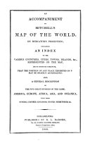 An Accompaniment to Mitchell s Map of the World