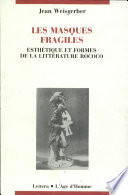 Les masques fragiles Pdf/ePub eBook