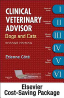 Clinical Veterinary Advisor Text and Veterinary Consult Package Book
