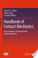 Handbook of Contact Mechanics