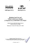 Relating Land Use and Global Land-cover Change