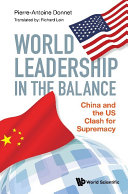Pdf World Leadership In The Balance: China And The Us Clash For Supremacy Telecharger