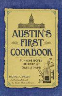 Austin s First Cookbook