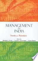 Management in India