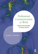 Professional Communication at Work Pdf/ePub eBook