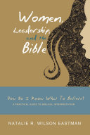 Women  Leadership  and the Bible