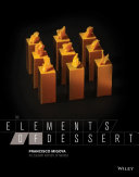 Pdf The Elements of Dessert Telecharger