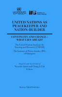 United Nations as Peacekeeper and Nation builder