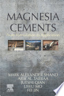 Magnesia Cements Book