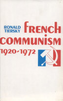 French Communism, 1920–1972
