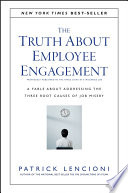The Truth About Employee Engagement Book