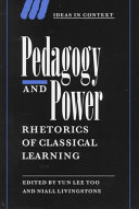 Pedagogy and Power