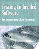 Testing Embedded Software Book