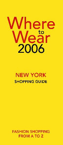 Where to Wear New York Shopping Guide