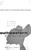 The Southeastern Librarian