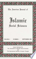 American Journal Of Islamic Social Sciences 3 1