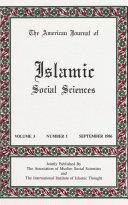 American Journal of Islamic Social Sciences 3 1