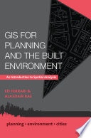 GIS for Planning and the Built Environment  An Introduction to Spatial Analysis