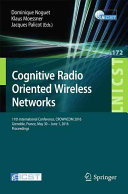 Cognitive Radio Oriented Wireless Networks Book