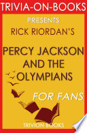 Percy Jackson and the Olympians  By Rick Riordan  Trivia On Books  Book