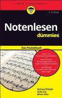 Notenlesen fÃ1⁄4r Dummies Das Pocketbuch