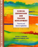 Clinical Supervision and Teacher Development
