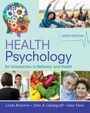 Health Psychology  An Introduction to Behavior and Health Book