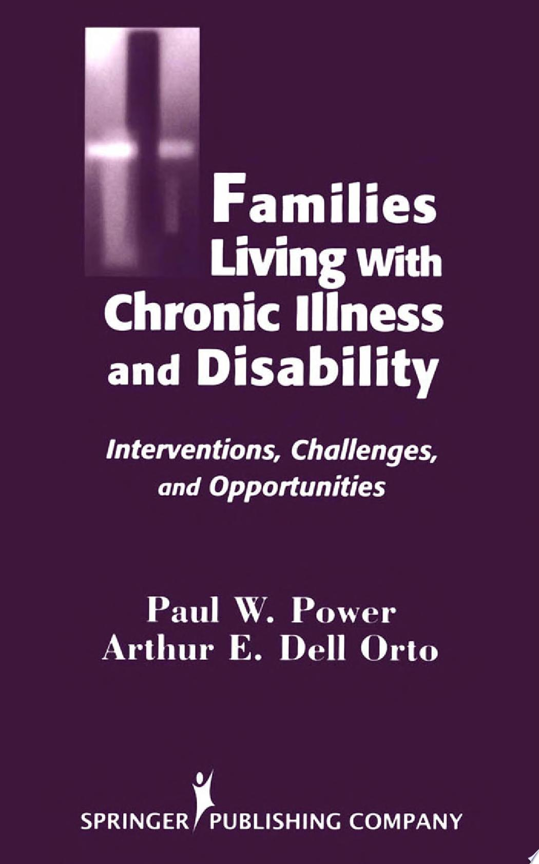 Families Living with Chronic Illness and Disability