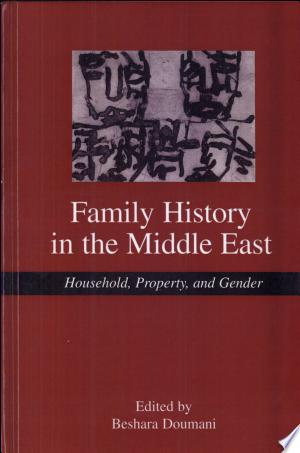 Free Download Family History in the Middle East PDF - Writers Club