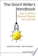 The Grant Writer  s Handbook