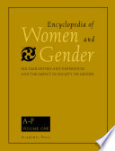 Encyclopedia Of Women And Gender