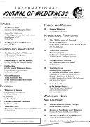 International Journal of Wilderness Book