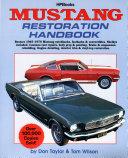 Mustang Restoration Handbook ebook
