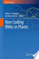 Non Coding Rnas In Plants Book PDF