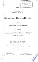 The Normal Musical Hand-book