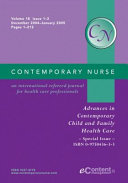 Advances in Contemporary Child and Family Health Care