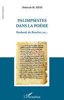 Palimpsestes dans la poésie