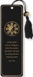 Yin Yank Beaded Bookmark