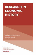 Pdf Research in Economic History Telecharger