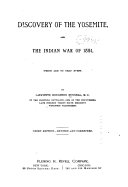 Discovery of the Yosemite  and the Indian War of 1851