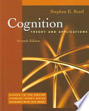 Cover of Cognition: Theory and Applications