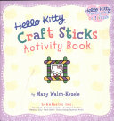 Hello Kitty Craft Sticks Activity Book