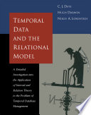 Temporal Data   the Relational Model
