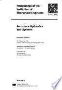 Aerospace Hydraulics and Systems