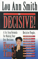 Be Decisive  Book
