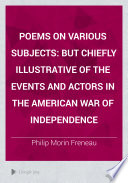 Poems on Various Subjects Book