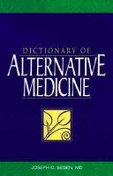 Dictionary of Alternative Medicine Book PDF