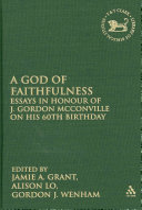 A God of Faithfulness