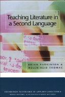 Teaching Literature In A Second Language PDF